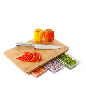 Quirky Mocubo One Stop Chopping Cutting Board