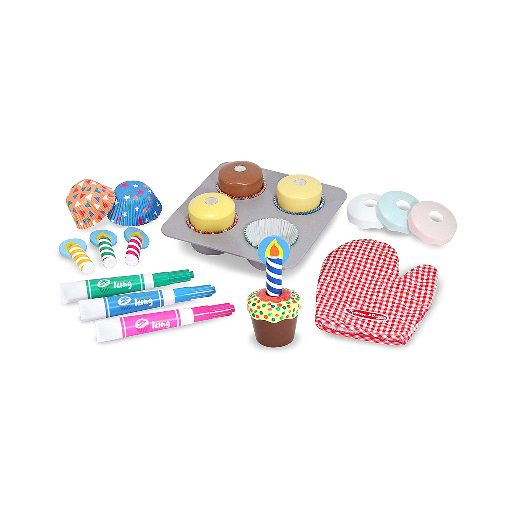 Cute Valentine's Day gifts for kids - Melissa & Doug Bake & Decorate Cupcake Set