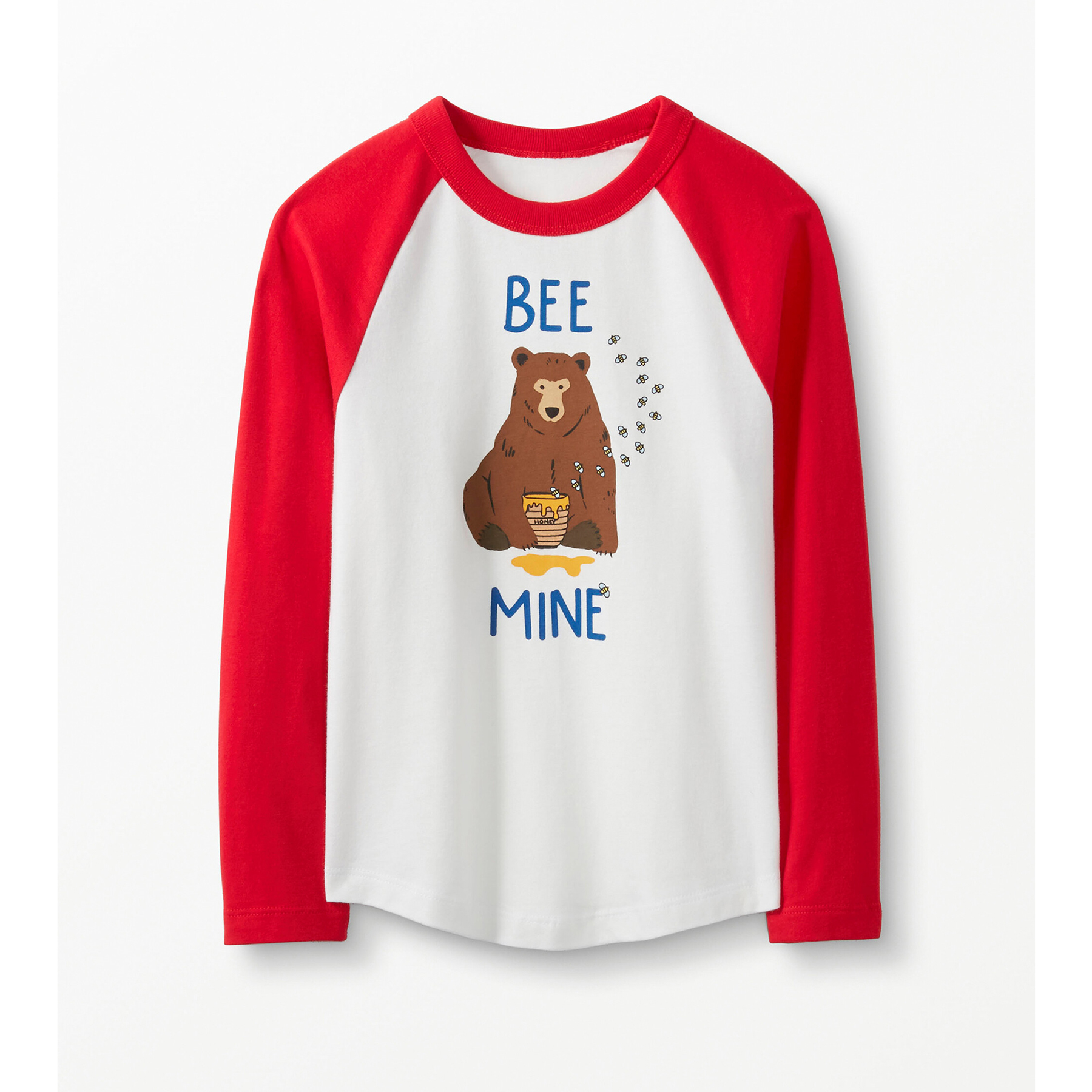 Valentine's Day gifts for kids - Hanna Andersson Sueded Jersey Baseball Tee