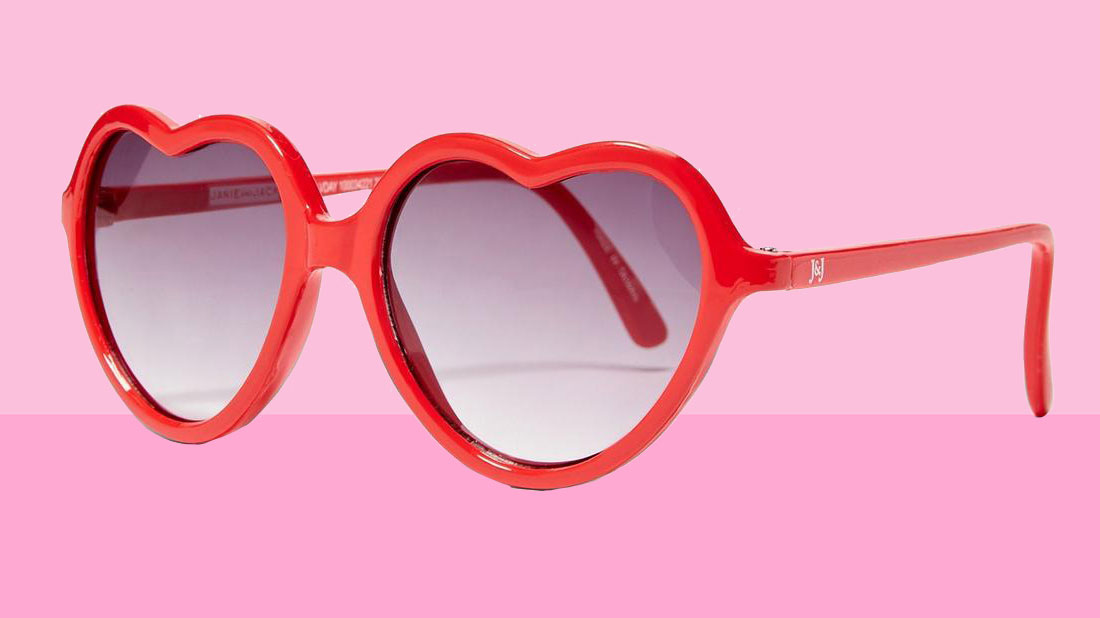 Valentine's Day gifts for kids - Janie and Jack heart sunglasses tout