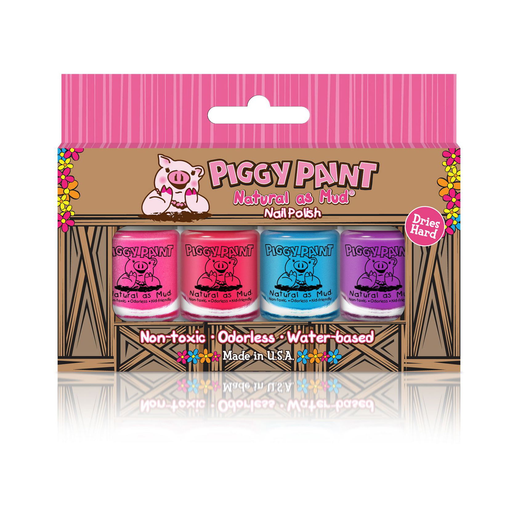 Valentine's Day gifts for kids - Piggy Paint Nail Polish Set