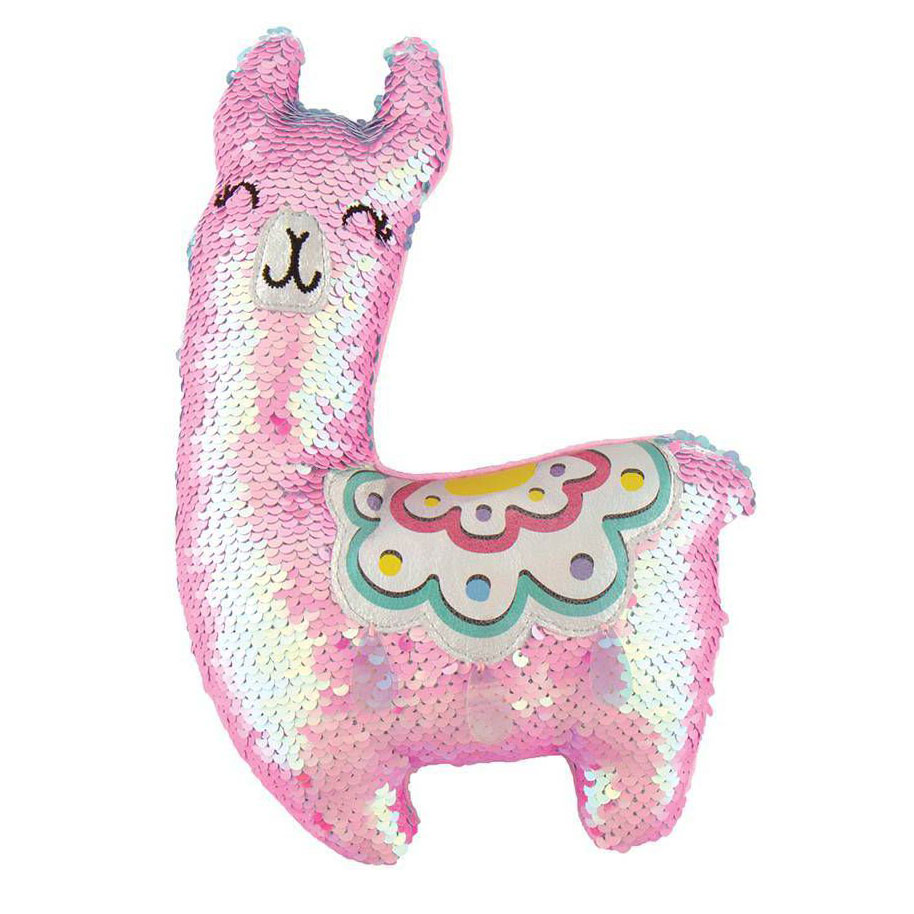 Valentine's Day gifts for kids – Magic Sequin Plush – Llama