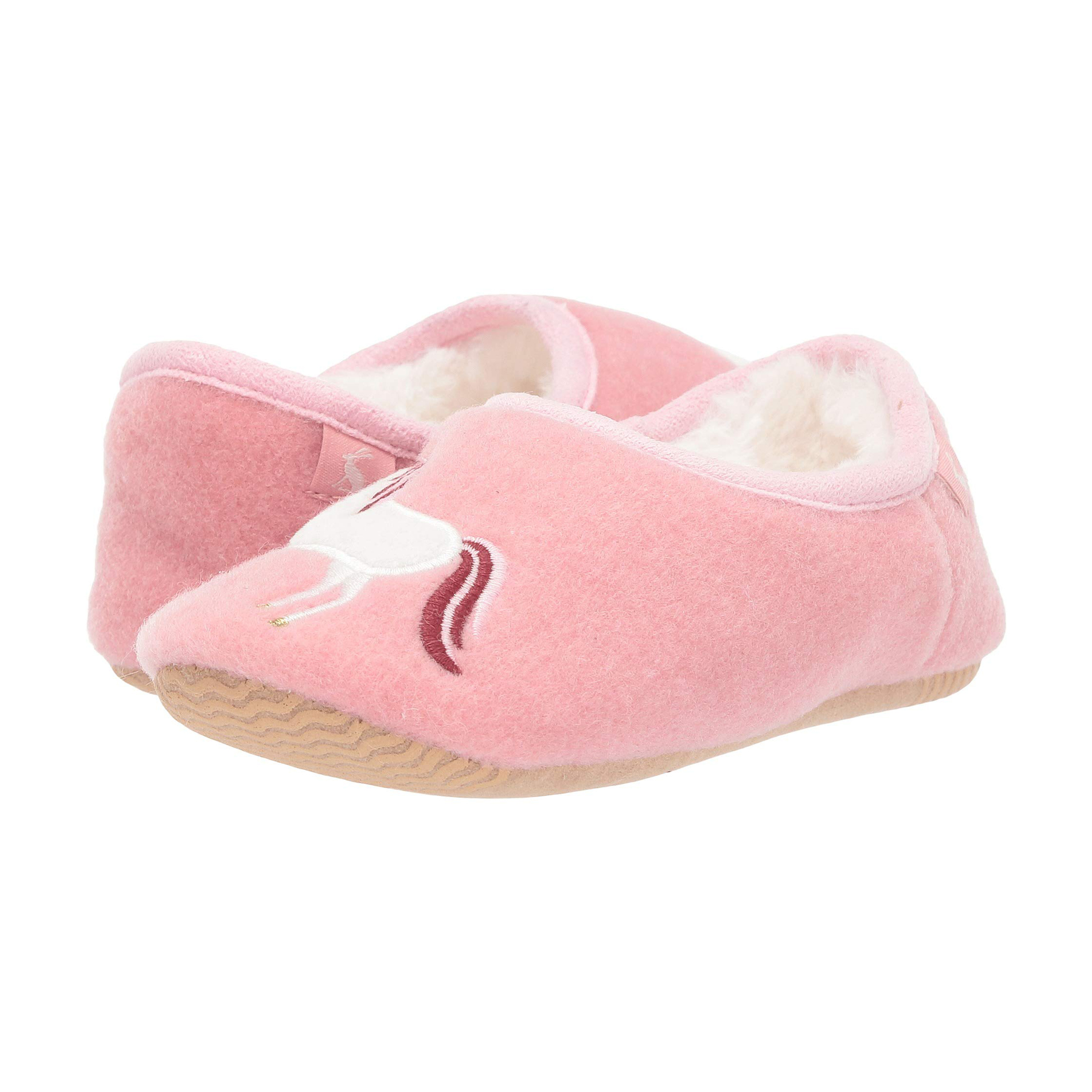 Valentine's Day gifts for kids - Joules Kids Slippet Felt Mule Slippers