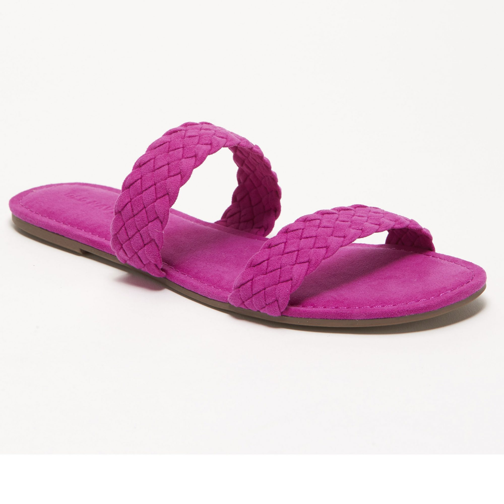 Old Navy Braided Faux-Suede Slide Sandals for Women