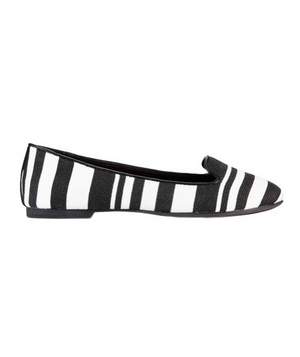 Ann Taylor Hadley Striped Loafers