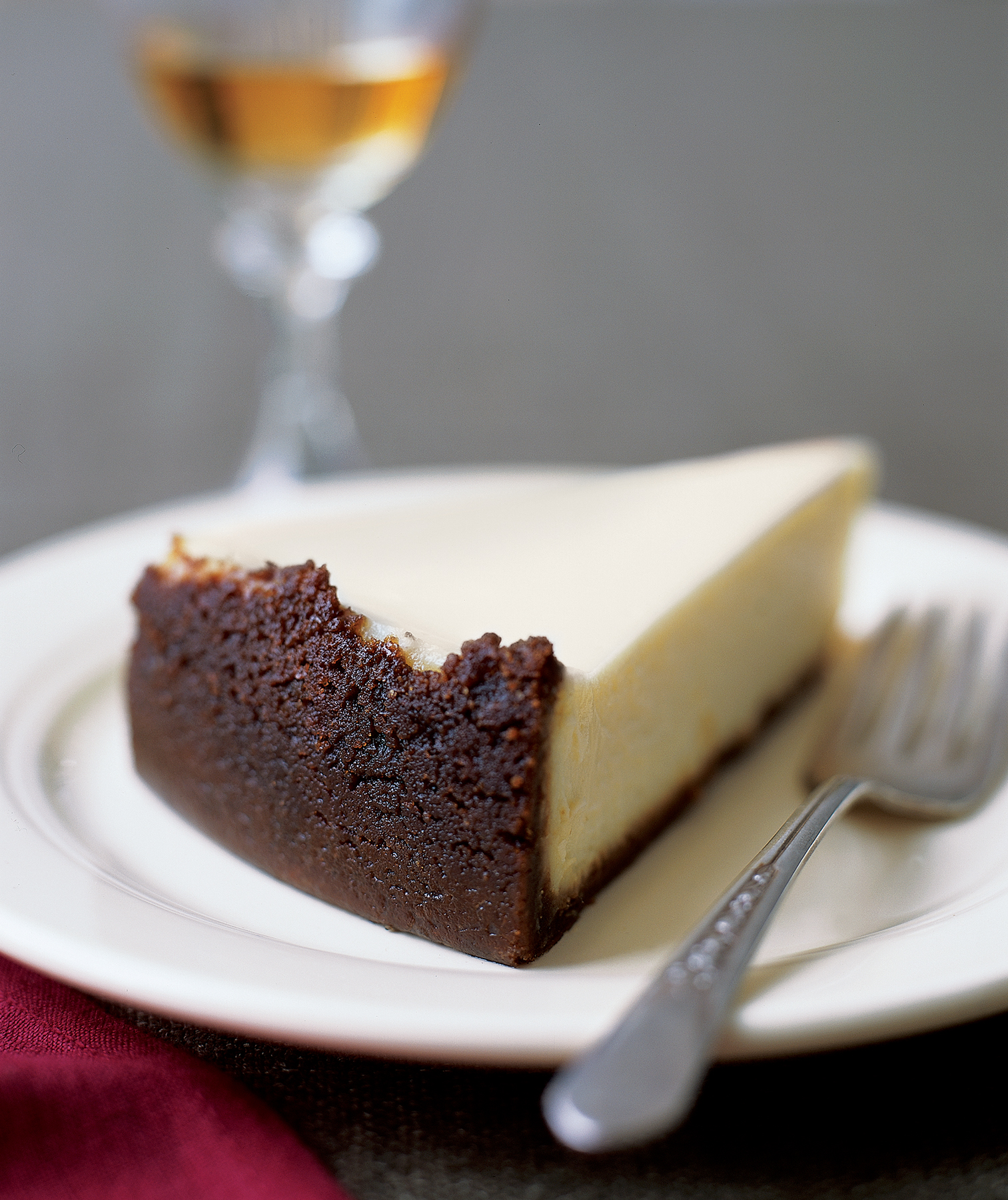 Vanilla Cheesecake With Ginger Graham Cracker Crust