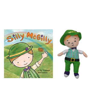 Silly McGilly Book and Doll