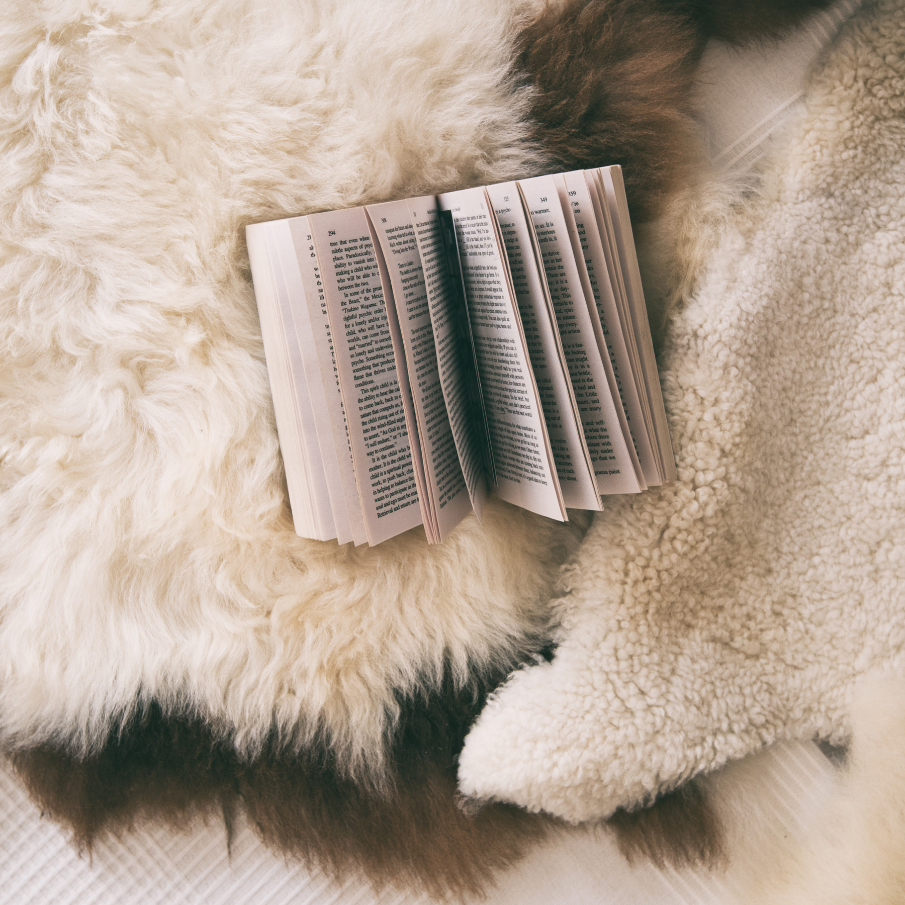 Ways to Be Healthy Every Day: open book on cozy bed