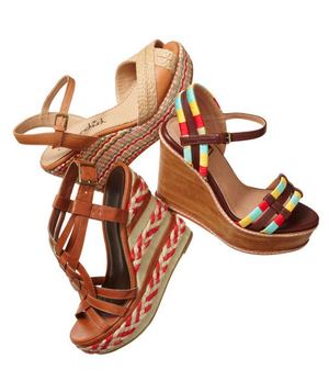 Fabric and rope wedges