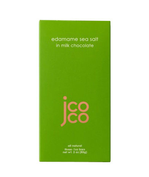 Jcoco Edamame Sea Salt Chocolate Bar