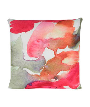 Watercolor Abstract Decorative Pillow