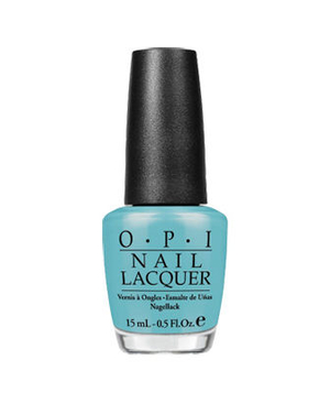 Opi nail lacquer in Can't Find My Czechbook