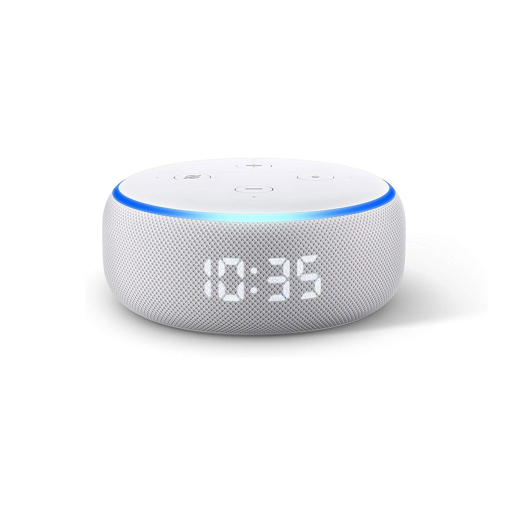 Gift ideas for dad – Echo Dot with Clock (3rd Generation)