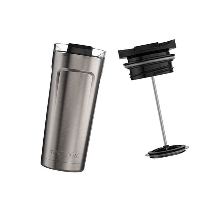 Gift ideas for dad – OtterBox Elevation 20 Tumbler and French Press Lid