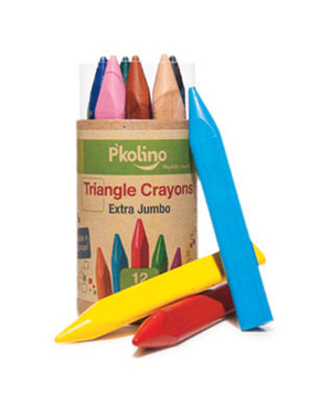 Triangle Crayons