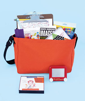 Children's travel kit