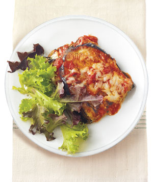 Eggplant Lasagna With Herbed Ricotta and Asiago