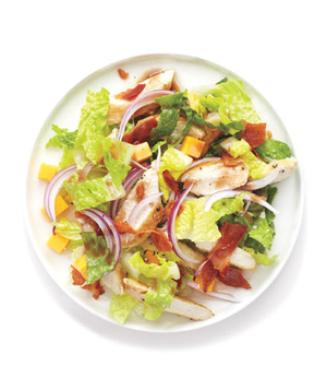 Chicken, Cheddar, and Bacon Salad