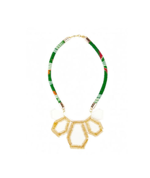 Sole Society Lucite Tribal Necklace