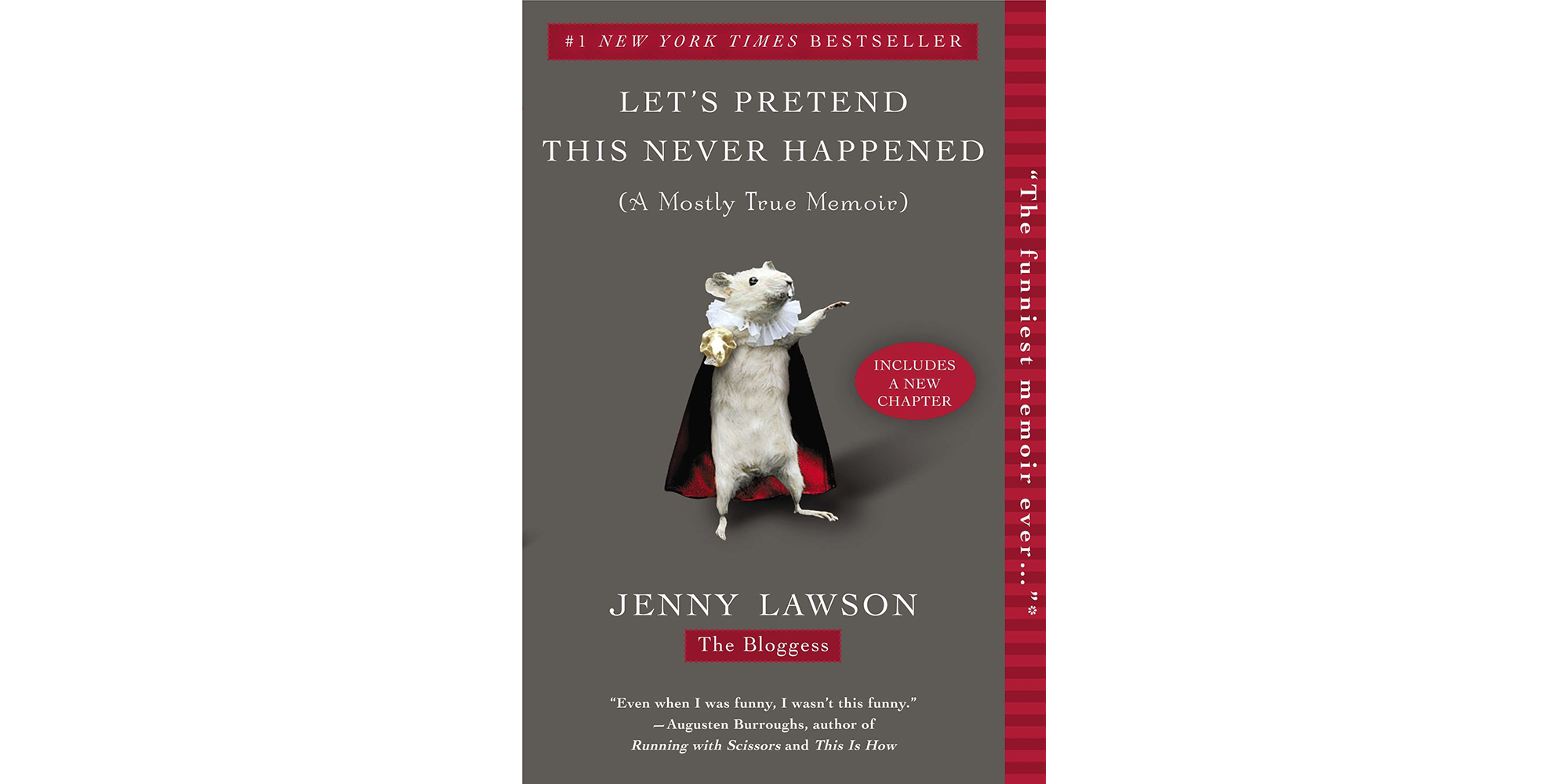 Cover of Let's Pretend This Never Happened, by Jenny Lawson