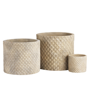 Crate and Barrel Bataan Planters