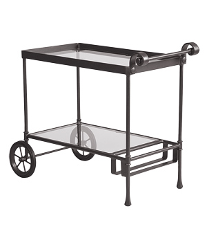 Ethan Allen Biscayne Serving Cart