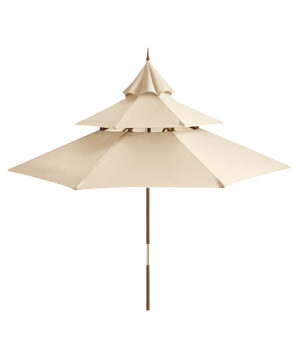 Sandshell Pagoda Umbrella
