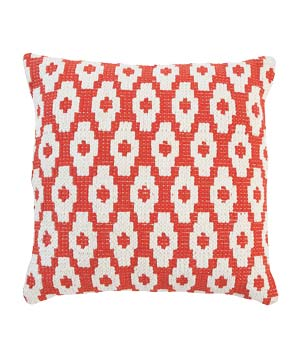 SunnyLIFE Salamander Red Throw Cushion