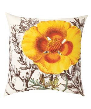 Threshold Cali Poppy Throw Pillow