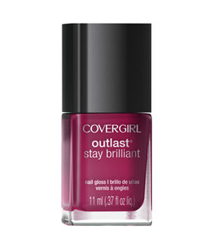 Cover Girl Outlast Brilliant Nail Gloss In Reliable Red