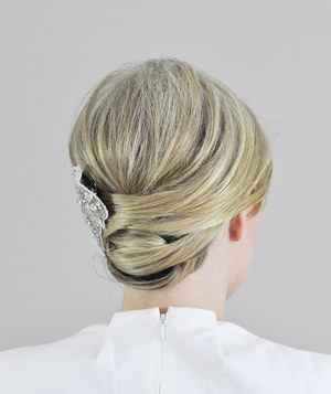 Wrapped Updo Step 7