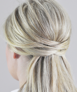 Wrapped Updo Step 3