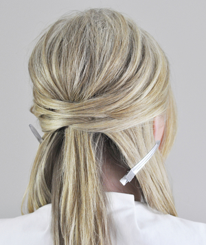 Wrapped Updo Step 4