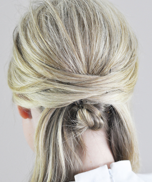 Wrapped Updo Step 5