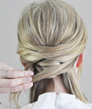 Wrapped Updo Step 6