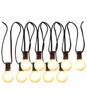 Allen+Roth Clear Edison Bulb Patio String Lights