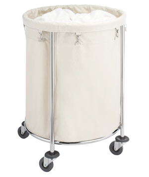 Whitmor 6894-3499-BB Commercial Round Laundry Hamper
