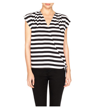 The Limited Side-Tie Wrap Top