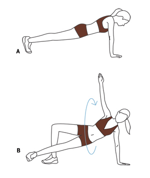 Illustration, Sit-Out exercise