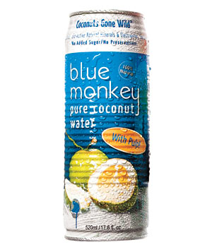 Blue Monkey Pure Coconut Water With Pulp