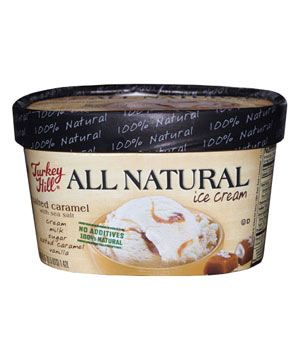 Turkey Hill Dairy's All Natural Salted Caramel Ice Cream