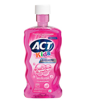 ACT Kids Anticavity Fluoride Rinse