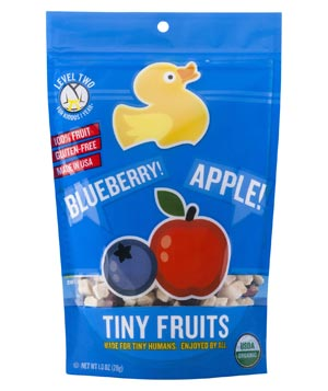 Little Duck Organics Blueberry and Apple Tiny Fruits