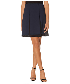 The Limited Layered A-Line Skirt