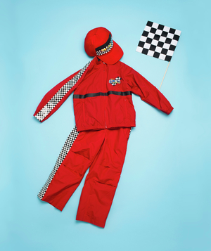 Racecar driver costume how-to