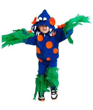 Sea Monster costume