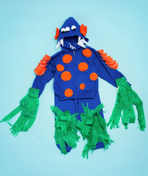 Sea Monster costume how-to