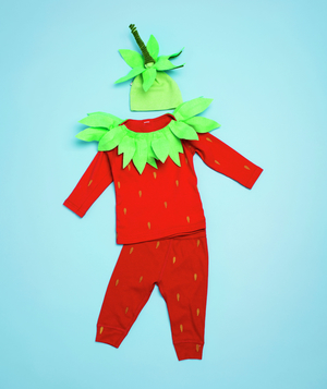 Strawberry costume how-to