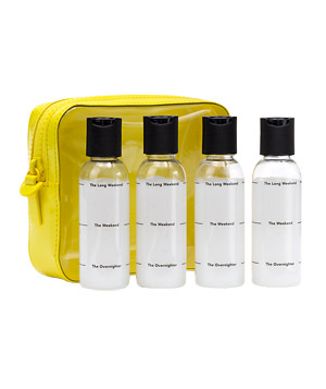 Fill-It-Up Travel Case and Bottles