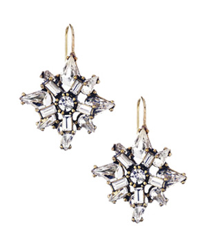 Chloe + Isabel Art Deco Starburst Earrings